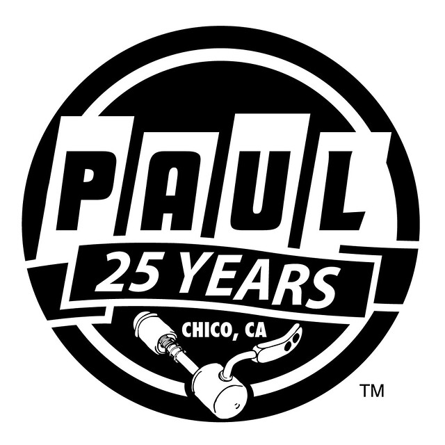 Paul Components : 25th Anniversary Logo
