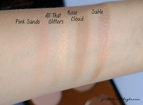MAC Nude Quad swatch