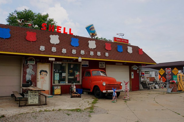 Die Cast Auto Sales - Route 66, Williamsville, Illinois