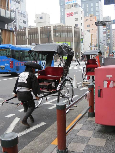 Rickshaw man, Asakusa