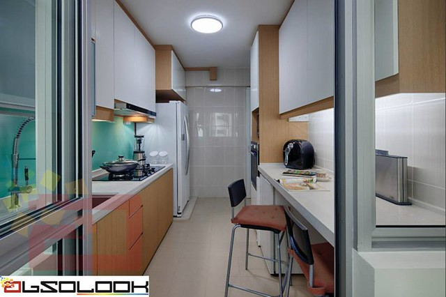Hdb 5 Room Bto Woodlands Crescent Interior Design