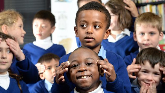 Massage in Schools Program - primary kids given massage classes as part of anti-bullying initiative