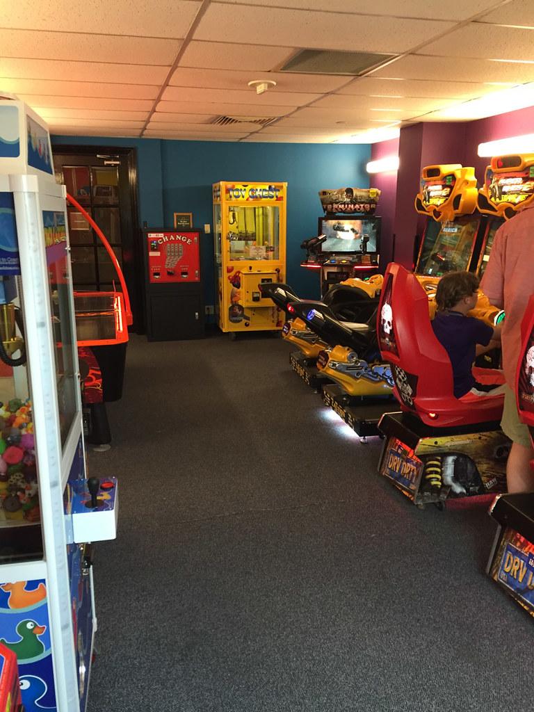 Arcade at Hyatt Hill Country
