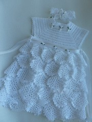 ❤❤ Crochet dress model very simple to make. See the step by step
