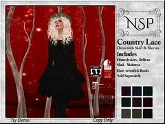 NSP Country Lace Dress - V5
