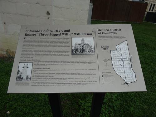 chfstew texas txcoloradocounty historicmarker