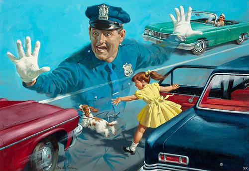 1960 ... ghost cop!