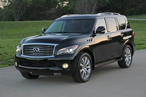 Infiniti's QX56 luxury SUV is plush and comfortable