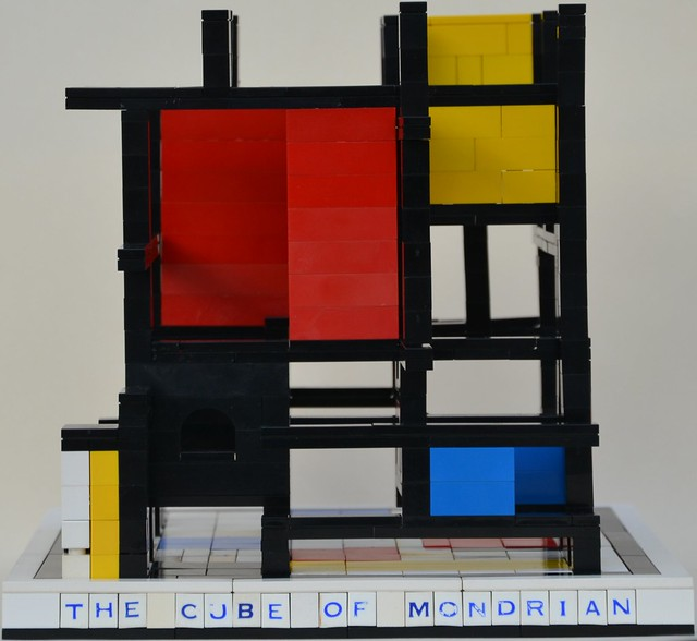 Mondrian's Cube: Front