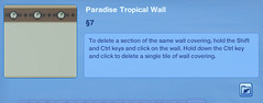 Paradise Tropical Wall 3