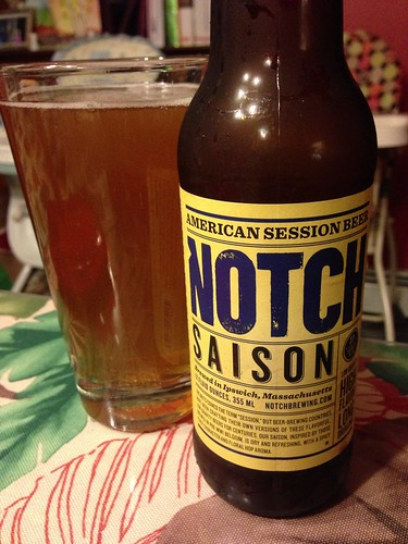 Notch Brewing Company Saison