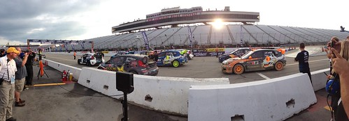 Awesome @globalrallyx racing @nhms tonight. Next week is Bristol! @bmsupdates