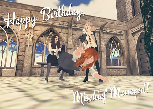 Happy 1st Birthday Mischief Managed! by Hogwarts Mischief Managed