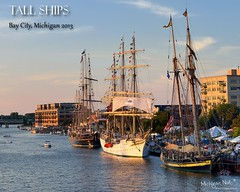 Tall Ship festival Bay City, Michigan by Michigan Nut