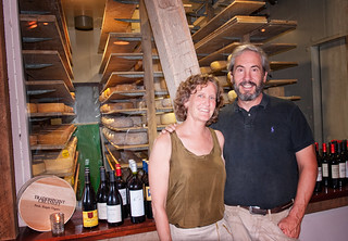 "Owners Peter ""Fritz"" Kunz and Jane Elder Kunz."