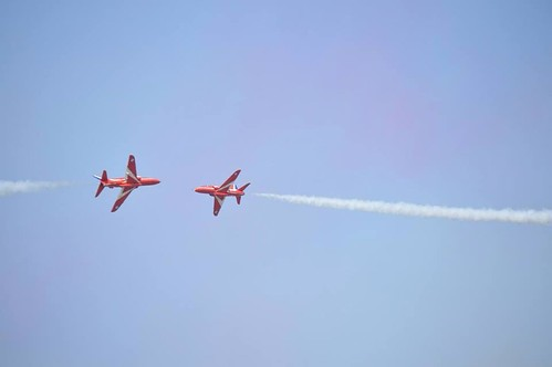 Red Arrows at RIAT 2013