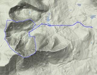 "Katahdin - ""Grand Circle"" route"