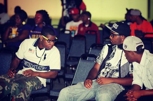 Header of hip hop music