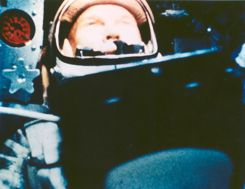 Astronaut John Glenn photo