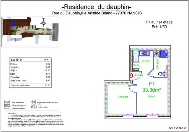 Résidence du Dauphin - Plan de vente - Lot n°9