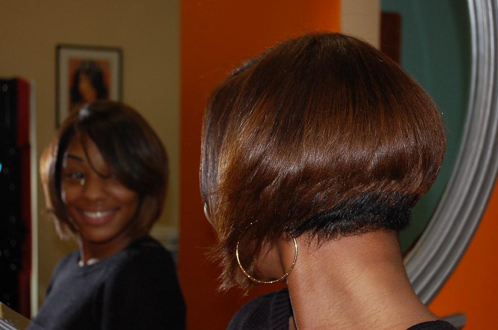 Short Hair Style For Black Women Salon Woodbridge Va Natural Hair