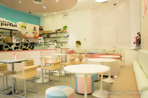 Sfree Healthy Dessert Cafe: Parferio