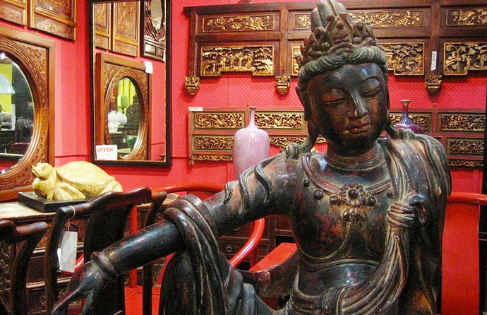 buddha statue - antique furniture