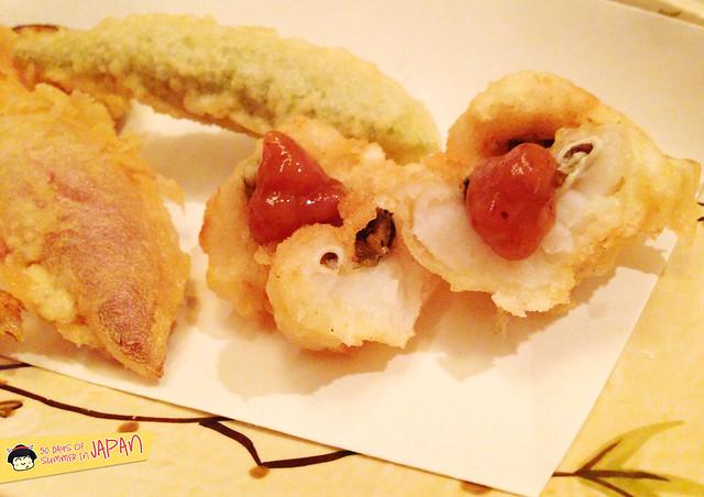 Tempura Tsunahachi - Shinjuku - Takashimaya - fish tempura