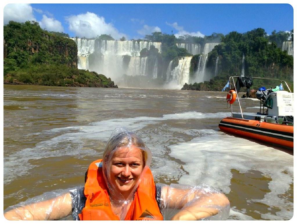 dani iguazu falls