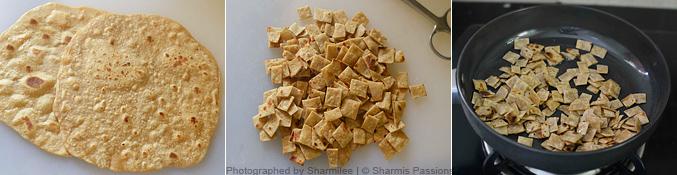 How to make caramelised roti - Step1