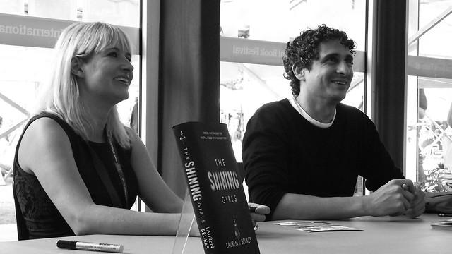 Edinburgh Book Festival 2013 - Lauren Beukes & Inaki Miranda 03