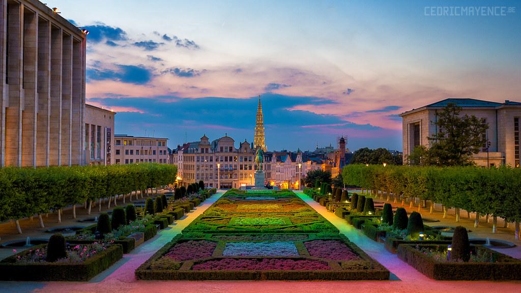 Elevation of chauss e d 39 etterbeek 52 bruxelles belgium for Architecte de jardin bruxelles