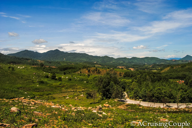 Tour de Vietnam Cycling Central Vietnam mountains