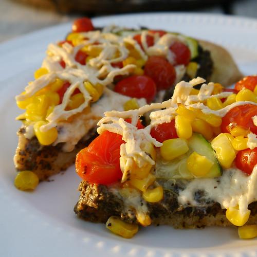 2013-09-08 - VP Corn, Pesto, Zucchini Pizza - 0013