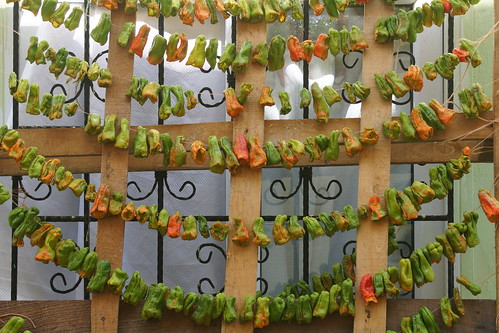 Drying peppers in Tokat by CharlesFred