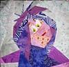 Disney Mystery Quilt, Block 11, Madam Mim Face