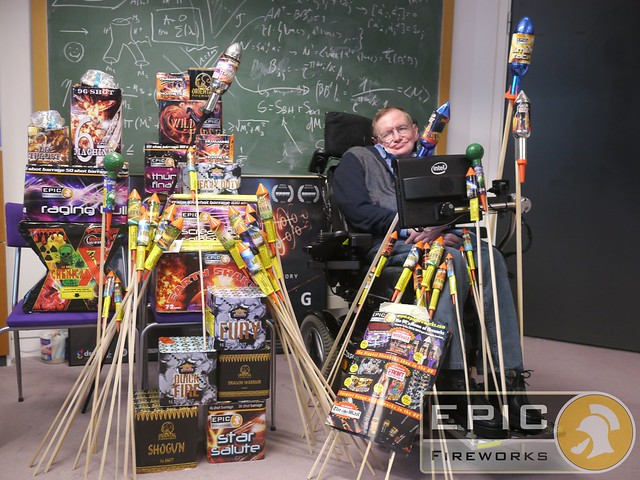Epic Fireworks Stash by Stephen Hawking