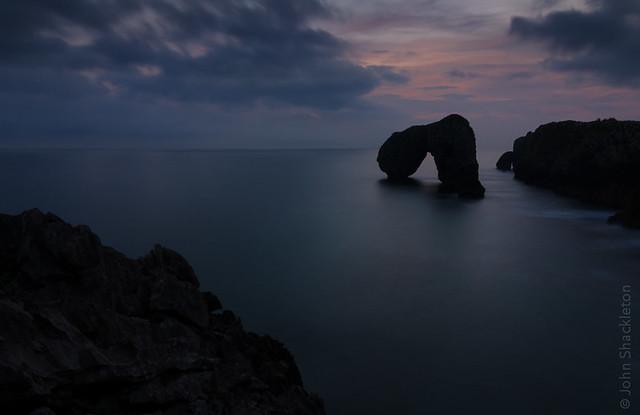 Sunrise - Castro de las Gaviotas IV, Asturias
