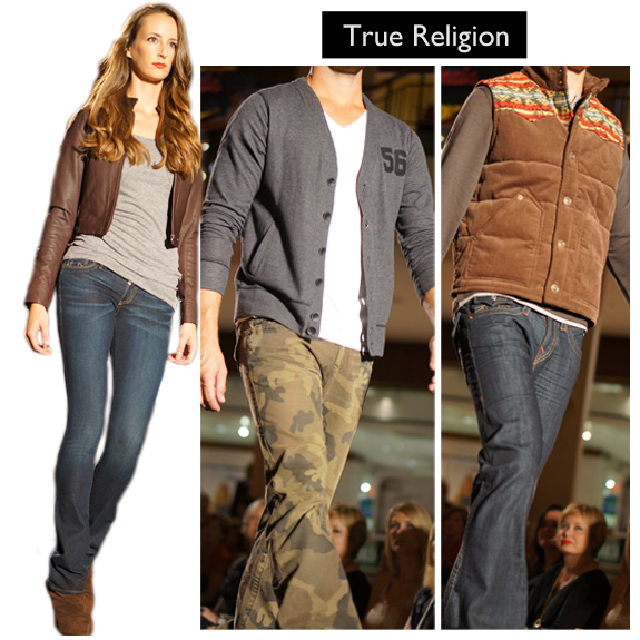 Saint Louis Fashion Week (Fall 2013), Fall into Fashion, Saint Louis Galleria, True Religion c
