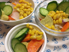 朝食サラダ 2013/9/15