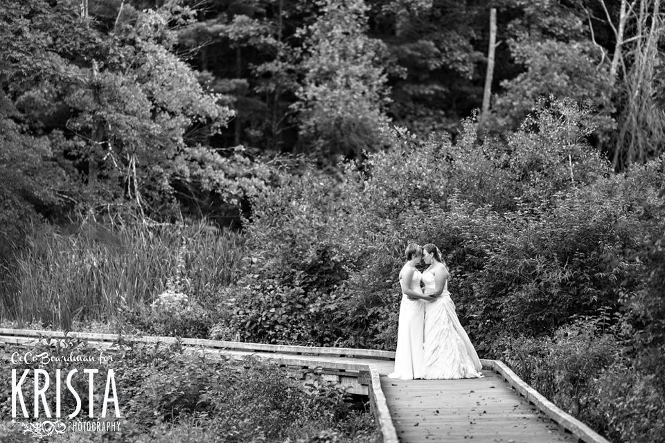 Same sex wedding at Willowdale Estate (Topsfield, MA)