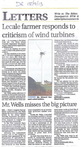 sept 18 c 2013 wind turbine reply to wells by CadoganEnright