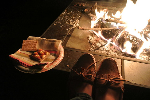 Candy Corn S'mores!