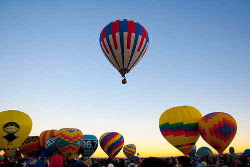 Early Morning Hot Air Balloons