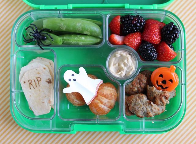 Preschool Halloween Yumbox Bento #527