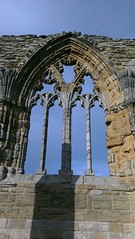 Whitby Abbey Window