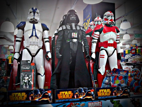 "Jakks Pacific 31"" Star Wars figures"