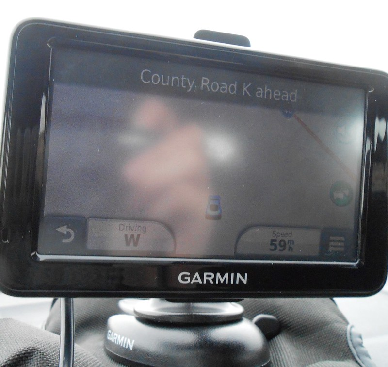 route 66 isnt actually a road in this part of Texas - according to Garmin