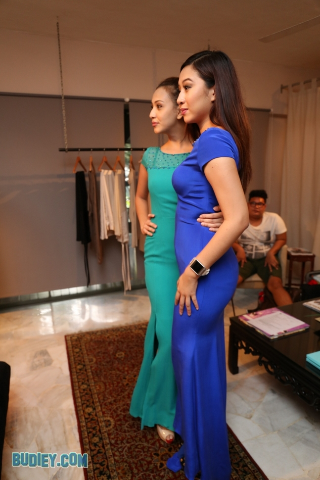 Miera Leyana Fitting Baju