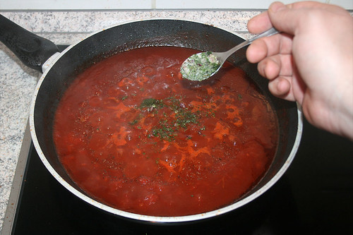 35 - Italienische Kräuter hinzufügen / Add italian herbs
